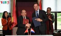 Vietnam y los Países Bajos emiten una Declaración Conjunta