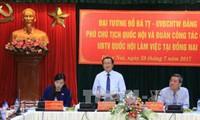 Enaltecen papel de liderazgo en la solución de quejas y denuncias en Dong Nai