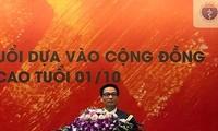 Vietnam llama a la participación comunitaria en la mejora de atención médica a las personas mayores