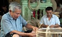 La fabricación de jaulas de pájaros en el pueblo de Canh Hoach