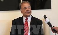 Líder del Partido del Trabajo de México aprecia la amistad y cooperación con el PCV