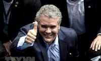 Reacciones de las FARC después del anuncio del presidente electo de Colombia