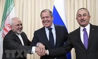 Rusia, Irán y Turquía deliberan sobre Comisión Constituyente Siria