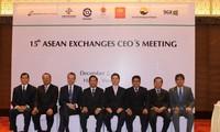 Gipfeltreffen der Börsen-Generaldirektoren der ASEAN