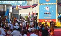 Treffen zum 33. Jahrestag des Sieges gegen die Roten Khmer