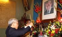 Feier zum 105. Geburtstag des verstorbenen KPV-Generalsekretärs Le Duan
