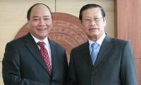 Vietnam und Laos verstärken die Wirtschaftszusammenarbeit