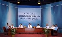 Online-Dialog über die nachhaltige Entwicklung im Mekong-Delta