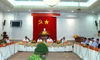 Premierminister Nguyen Tan Dung besucht die Provinz Tien Giang