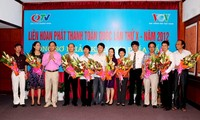 Eröffnung des Festivals der Radiosender 2012