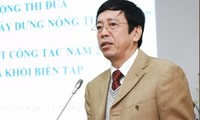 VOV-Intendant Nguyen Dang Tien besucht den Ort des evakuierten VOV-Sitzes