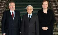 KPV-Generalsekretär Trong führt Gespräche mit hochrangigen belgischen Beamten