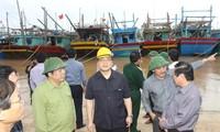 Vietnam ergreift Vorsorgemaßnahmen gegen Taifun Haiyan