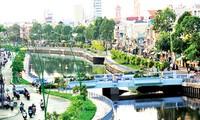 Nhieu Loc-Thi Nghe-Kanal, eine friedliche Ecke in Ho Chi Minh Stadt