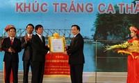 Die Stadt Ninh Binh in ein kulturelles und historisches Zentrum verwandeln