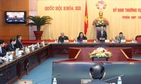 Erarbeitung der Gesetzgebung auf der 29. Sitzung des ständigen Parlamentsausschusses