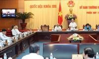 Eröffnung der 30. Sitzung des Ständigen Parlamentsausschusses