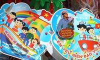 """Mondfest zum Thema """"vietnamesische Kinder richten nach Insel und Meer"""""""