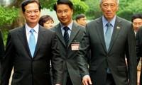 Die Beziehung zwischen Vietnam und Singapur entwickelt sich in allen Bereichen