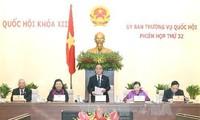 Eröffnung der 32. Sitzung des ständigen Parlamentsausschusses