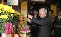 KPV-Generalsekretär Nguyen Phu Trong tagt mit Parteileitung der Provinz Quang Binh