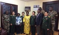 Delegation des Verteidigungsministeriums tagt mit UN-Missiontruppe in Zentralafrika