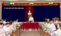Premierminister Nguyen Tan Dung:Provinz Khanh Hoa soll auf Förderung des Tourismus achten