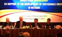 EU startet das Hilfsprogramm zur Entwicklung nachhaltiger Energie in Vietnam