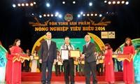 Auszeichnung für landwirtschaftliche Produkte Vietnams 2014