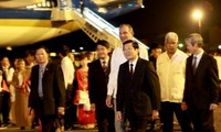 Staatspräsident Truong Tan Sang besucht Kuba