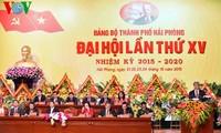 Premierminister Nguyen Tan Dung bei Sitzung der Parteileitung der Küstenstadt Hai Phong