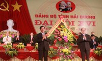 Eröffnung der Parteikonferenz der Provinzen Hai Duong und Thai Nguyen