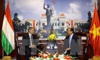 Zusammenarbeit zwischen Ho Chi Minh Stadt und Ungarn verstärken