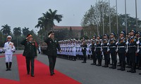 Chinas Verteidigungsminister Chang Wanquan besucht Vietnam