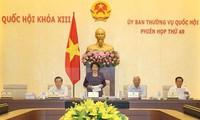 Eröffnung der 48. Sitzung des Ständigen Parlamentsausschusses