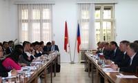 Sitzung der Transregierungskommission zwischen Vietnam und der tschechischen Republik