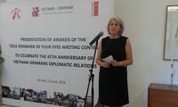 Staatspräsident Trai Dai Quang empfängt dänische Botschafterin