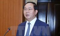 Tran Dai Quang wird vom Parlament als Staatspräsident vorgestellt