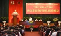 Premierminister Nguyen Xuan Phuc trifft Wähler der Hafenstadt Hai Phong