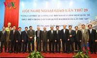 Konstruktive Diplomatie dient der Strategie, Sicherheit und Entwicklung des Landes