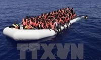 Zahl der Flüchtlinge aus Libyen über das Mittelmeer nach Europa ist stark gestiegen