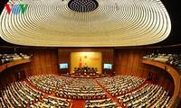 Eröffnung der Parlamentssitzung der 14. Legislaturperiode