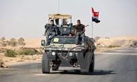 Irakische Streitkräfte bewegen sich zum ersten Mal über Stadtgrenze von Mossul