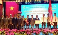 Vizepremierminister Vu Duc Dam zu Gast beim 60. Gründungstag der Universität für Industrie