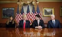 Bevorzugte Aufgaben in Innenpolitik des designierten US-Präsidenten Donald Trump