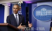 Barack Obama: Donald Trump soll Solidaritätsbotschaften senden