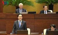 Parlamentssitzung: Fragestunde für Bildungsminister Phung Xuan Nha