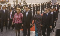 Staatspräsident Tran Dai Quang nimmt am APEC 2016 teil