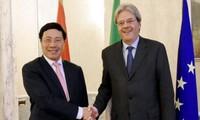 Verstärkung der strategischen Partnerschaft zwischen Vietnam und Italien