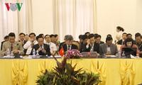 Konferenz der hochrangigen Politiker aus Vietnam, Laos und Kambodscha